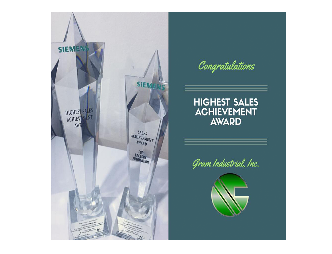 HIGHEST SALES ACHIEVEMENT AWARD
