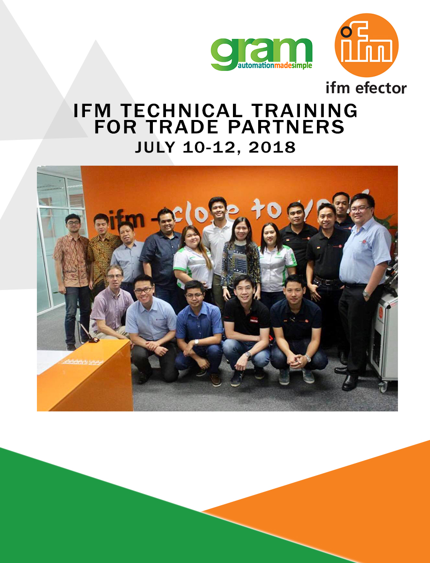 ifm Technical Training for Trade Partners