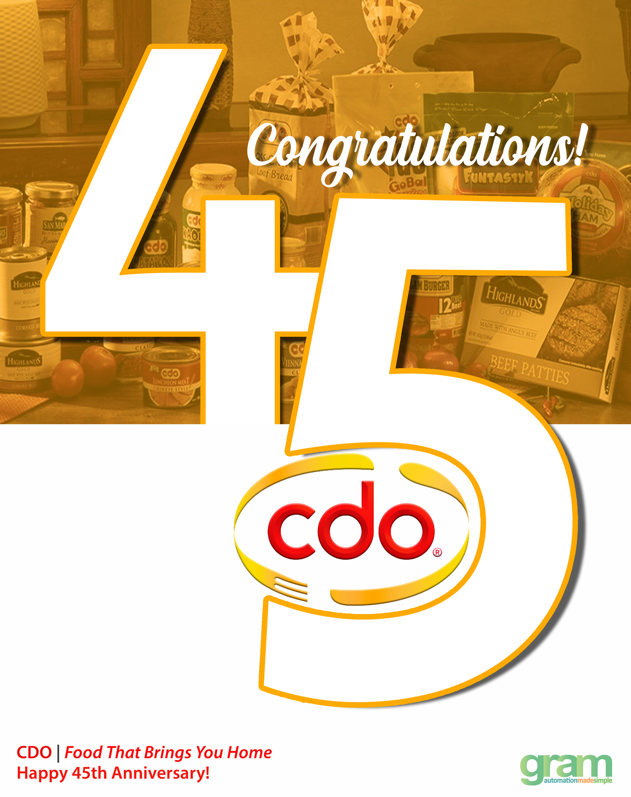 Happy 45th Anniversary CDO!