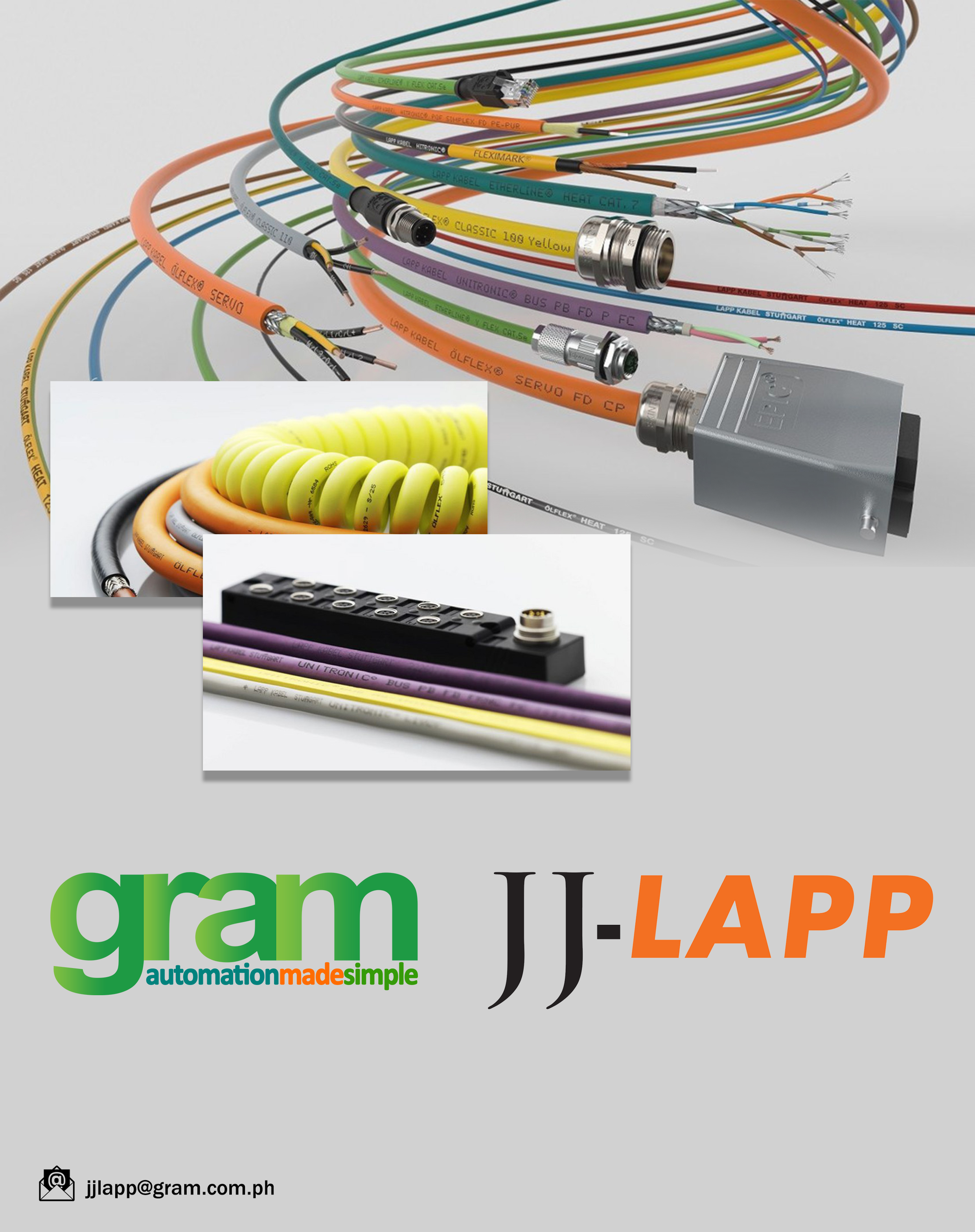 Gram partners with JJ-Lapp Cable